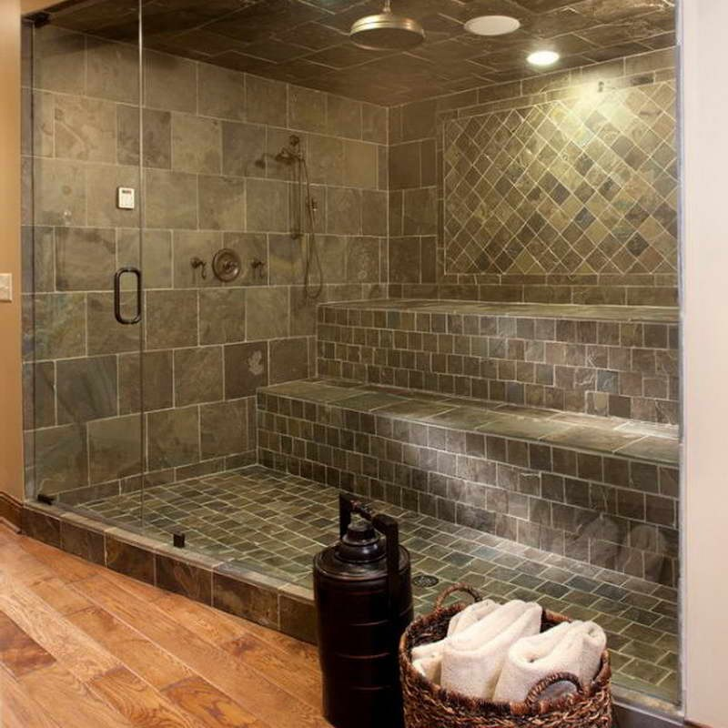 20 Beautiful Ceramic Shower Design Ideas