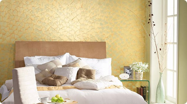 15 room designs with textured paint for Asian paints interior texture designs