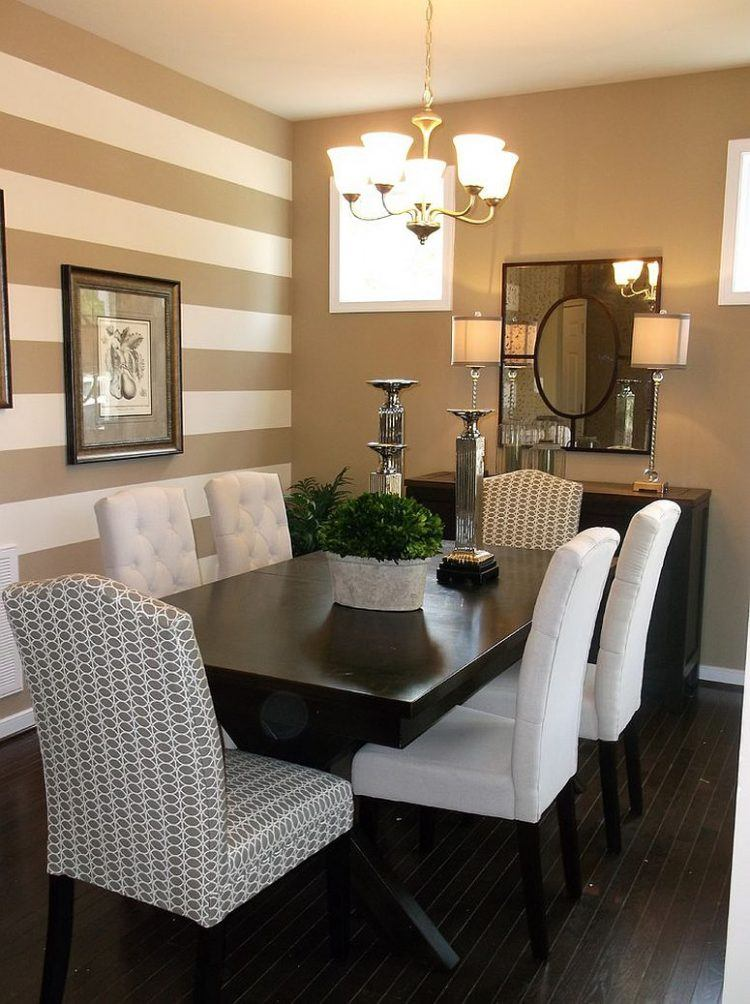 10x15 Room: 10 Beautiful Dining Rooms With Brown Walls