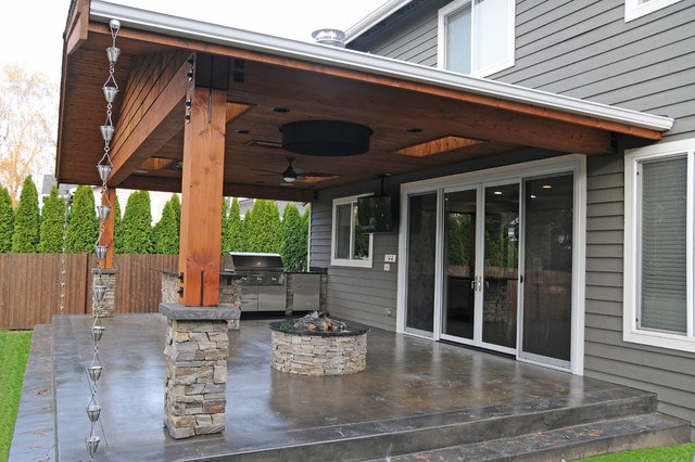 20 Beautiful Covered Patio Ideas on Patio Cover Ideas id=20756