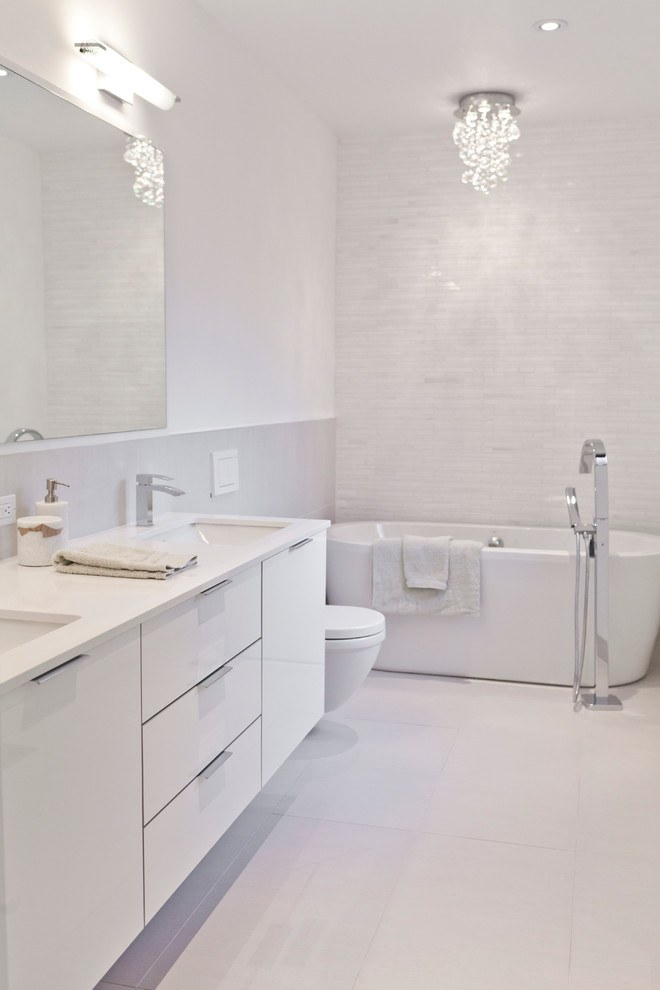 white bathroom design ideas 20 flawless all white bathroom designs 9796