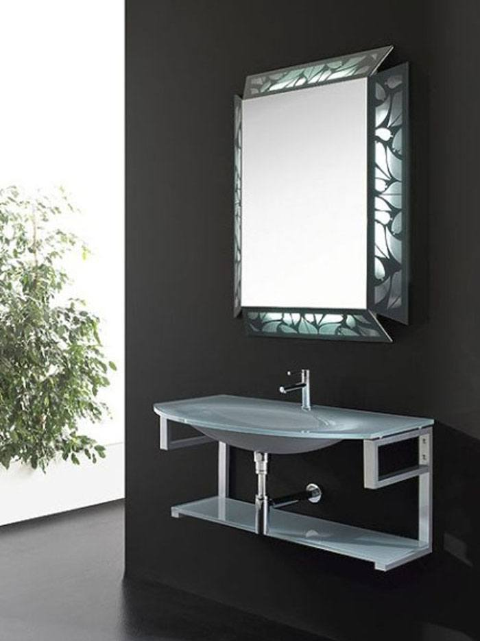 contemporary mirrors for bathroom 20 of the most creative bathroom mirror ideas housely 17871