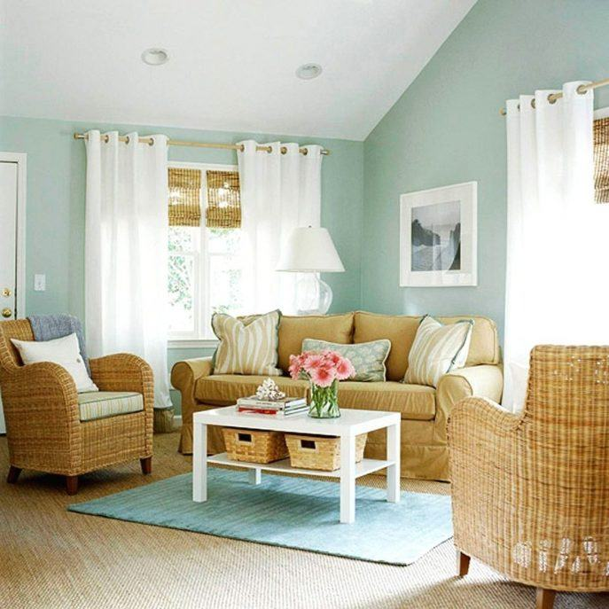 Color Schemes Interior Design Gallery: 10 Living Rooms With Calming Colors
