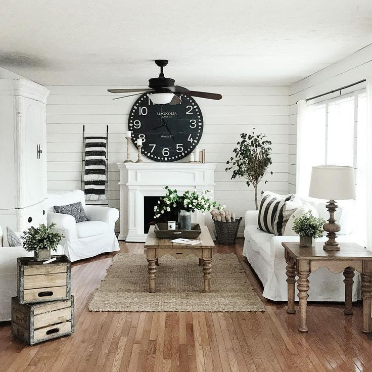 Modern Farmhouse Interior Design: 10 Modern Farmhouse Living Room Ideas