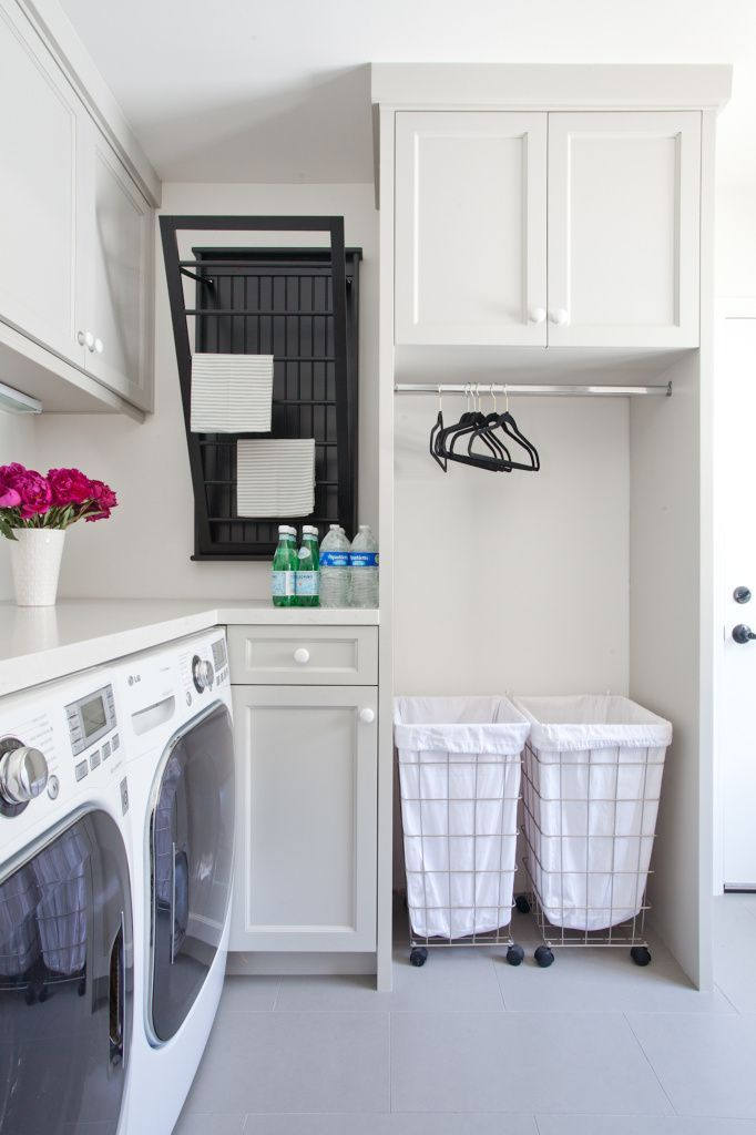 10 spacious small laundry room ideas housely for House plans with large laundry room